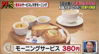 Cafe カリス・380円の激安モーニング