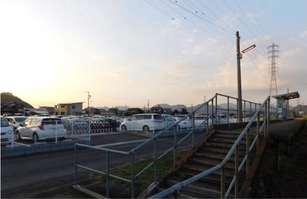 関市役所前駅臨時駐車場