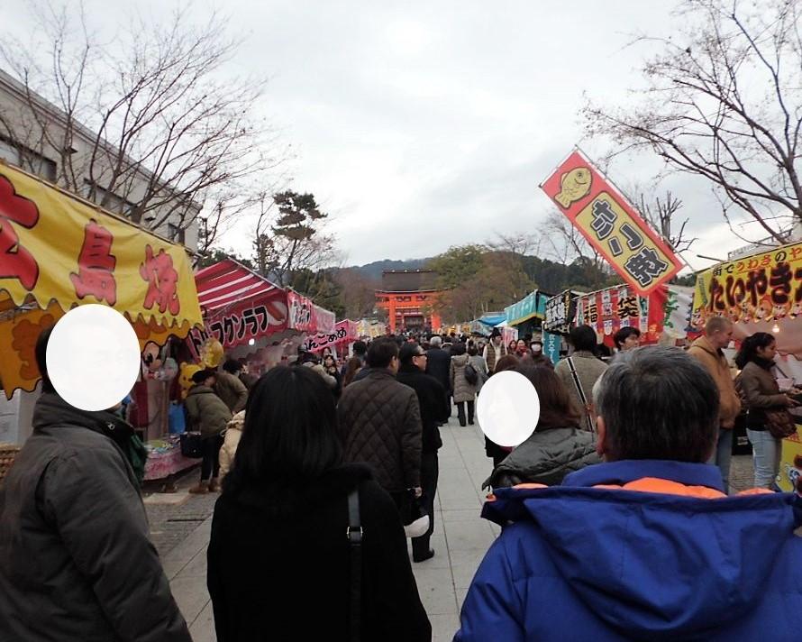 京都伏見稲荷大社の参道