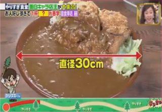 栃木県宇都宮市「御食事処 藤」のカツカレー