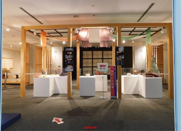 美濃和紙の里会館 2F展示場
