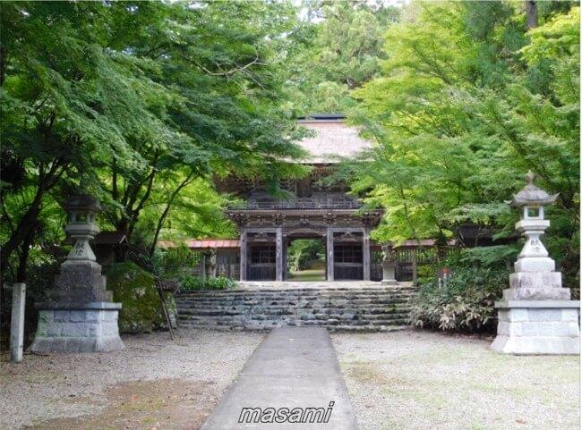 大矢田神社もみじ谷 美濃市 楼門(ろうもん)