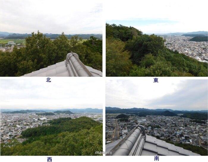 安桜山公園展望台 眺め 岐阜県関市