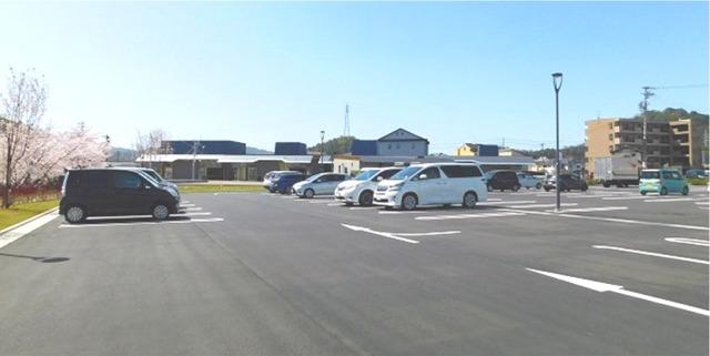 岐阜県関市 せきてらす 駐車場